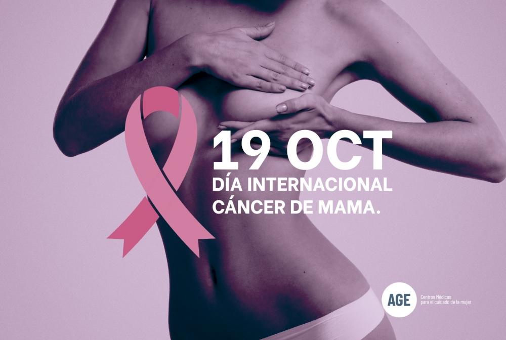 AGE destaca la importancia de la detección precoz del cáncer de mama como clave para el éxito terapéutico