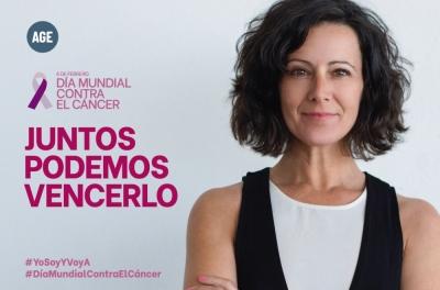AGE lanza un mensaje de apoyo a todas aquellas personas que luchan contra el cáncer