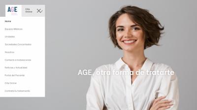 AGE estrena diseño web con grandes novedades